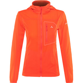 Schöffel L2 Windbreaker Jacket Women mandarin red